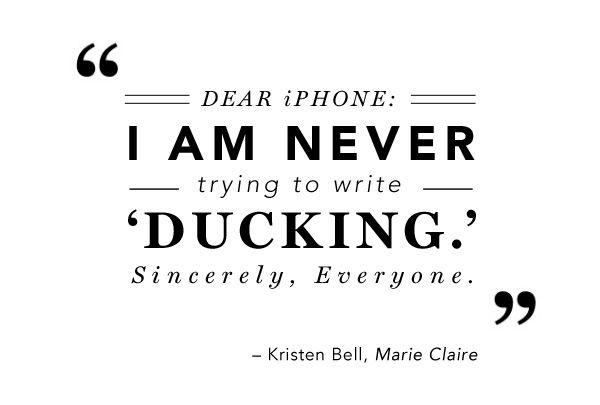 Kristen Bell #Quote