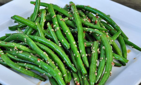 Sesame Green Beans | Food | Pinterest