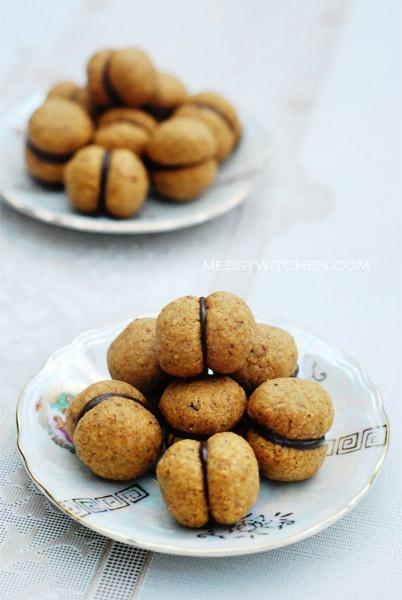 Baci di Dama Cookies | Cookies | Pinterest