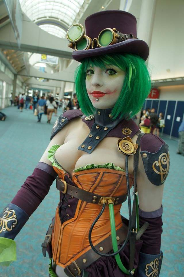 Steampunk Joker.