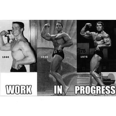 Elegant Bench Progress Bodybuilding Quote. At September , 2017. Arnold  Schwarzenegger Motivational Quotes. QuotesGram
