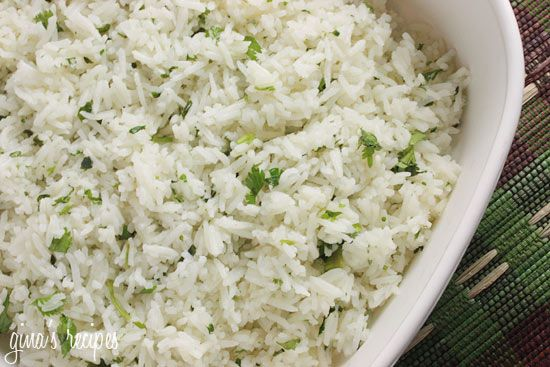 Chipotle's Cilantro Lime Rice