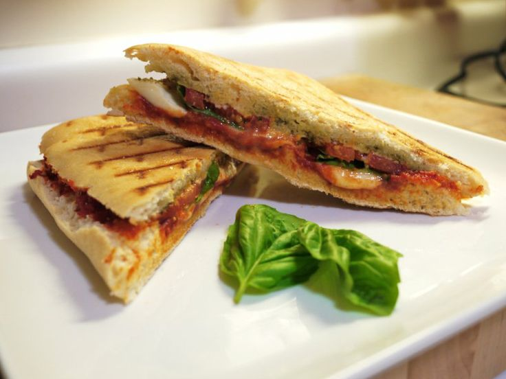 ... tomato panini mozzarella basil pressed mozzarella sandwiches grilled