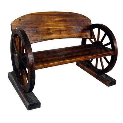 Buy The Wagon Wheel Bench At The Range Diy Home Garden Arts Crafts