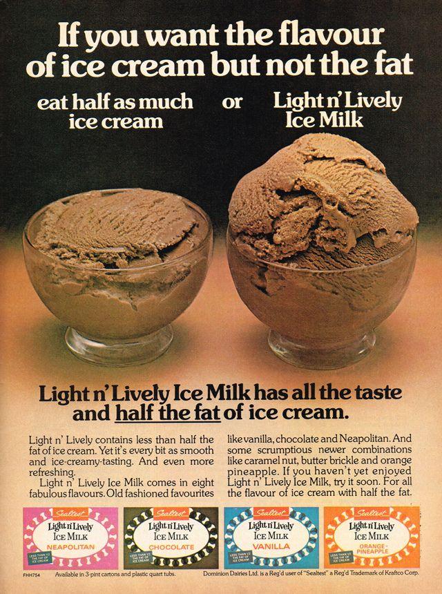 1975-Ice milk Sealtest | vintage Ad's & Photos | Pinterest