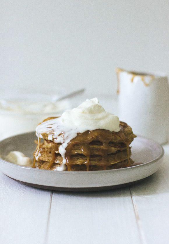 Caramel Apple Pancakes | Handmade Charlotte