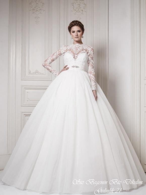 wedding dresses with sleeves pinterest
