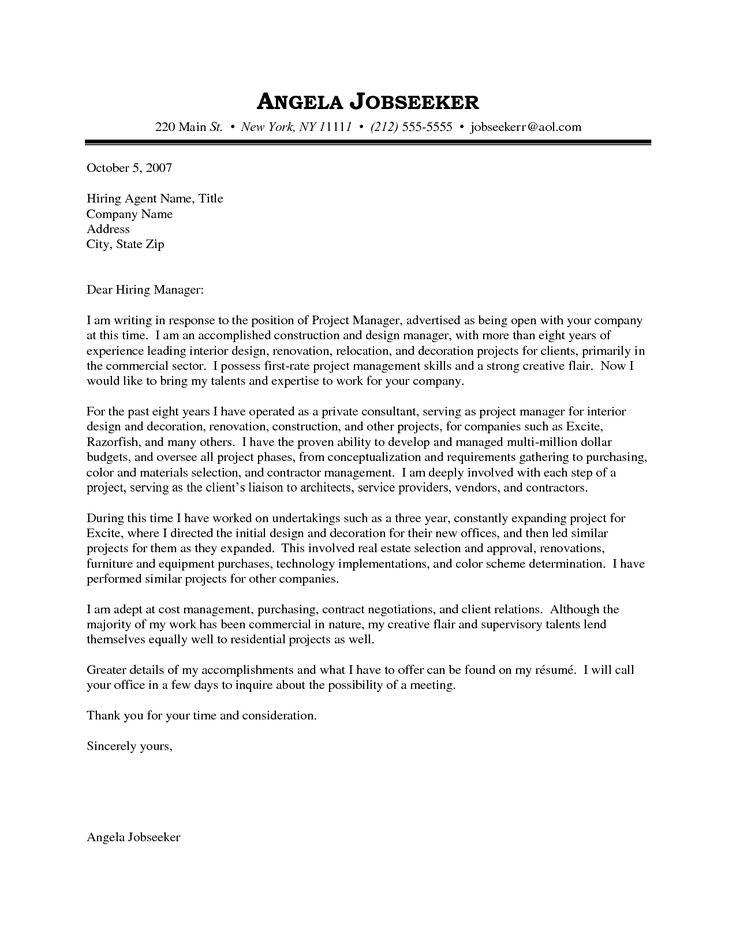 cover letter for senior interior designer