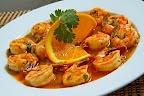 Thai Lemon Shrimp Shrimp in a lemon-y sweet chili sauce that is just ...