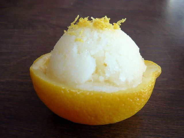 Meyer Lemon Sorbet by Buff Chickpea, via Flickr