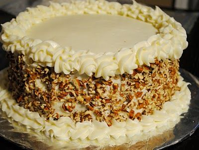 "Italian Cream Cake | ""LET THEM EAT CAKE"" 
