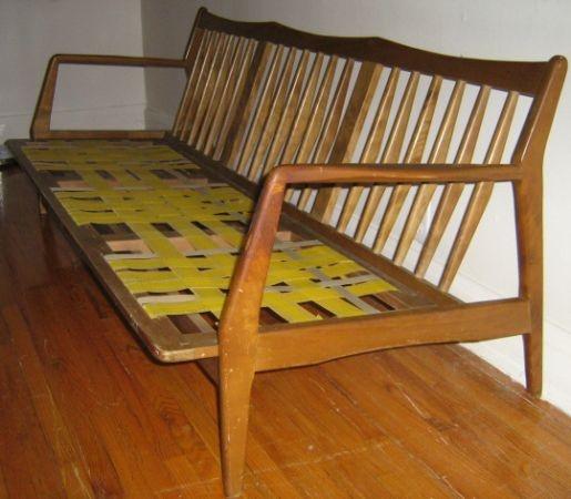 Toronto Mid Century Modern Teak Sofa Frame 135 Http Furnishlyst