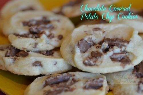 chocolate covered,potato chips,cookies | Cupie Cakes | Pinterest