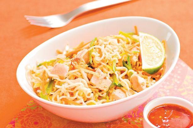 Asian noodle salad | Salad Recipes | Pinterest