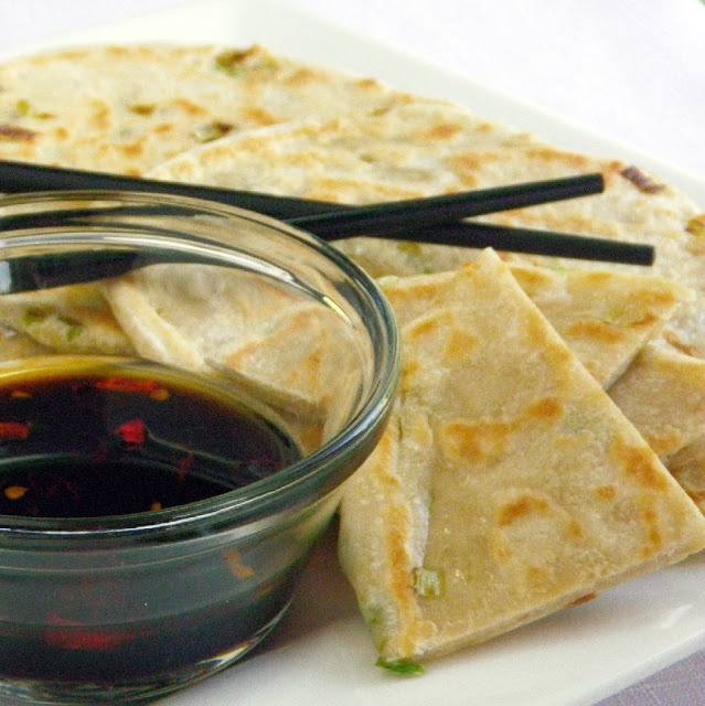 Inspired By eRecipeCards: Cong You Bing (Scallion Pancakes) - Trying ...