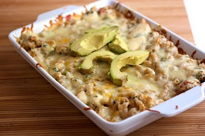 "Fajita"" mac & cheese. 