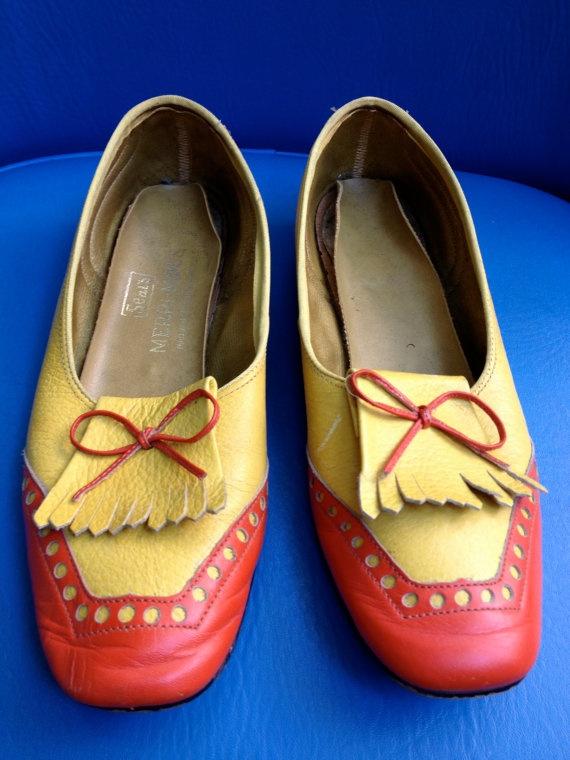 Vintage Womens Shoes US 5.5 Sears MerriMocks by ElkHugsVintage, $16.00