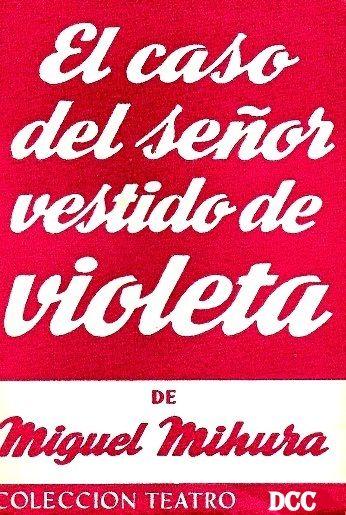 Teatro Estudio 1 (1969) El caso del señor vestido de violeta.