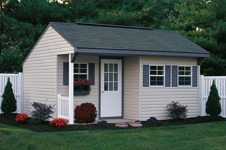 Shed with porch sweet cute cozzy cottage pinterest for Shed designs with porch