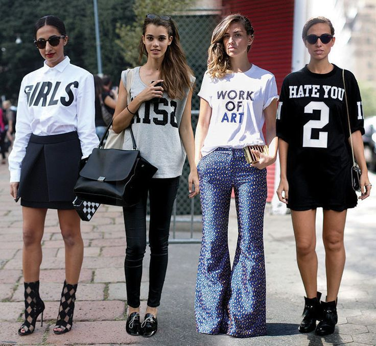 street style trends 2014 tshirts fashion trends pinterest