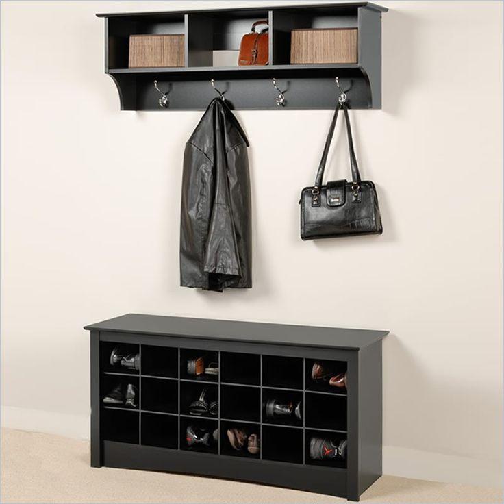 shoe and coat storage for the home pinterest. Black Bedroom Furniture Sets. Home Design Ideas