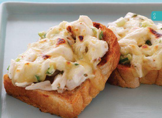 Seafood Recipes - Crab Melt. | Food | Pinterest