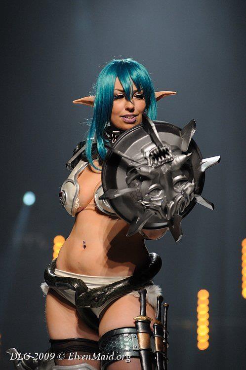 Echidna  Queen s Blade  Cosplay Queens Blade Echidna Cosplay