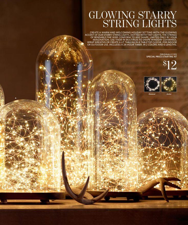 Restoration Hardware Led String Lights : Pinterest: Discover and save creative ideas