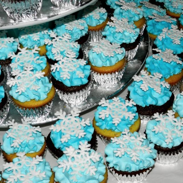winter wonderland themed cupcakes winter wonderland