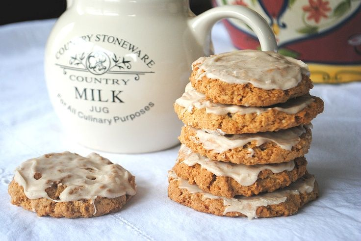 Iced Oatmeal Cookies | FoOd!!! | Pinterest
