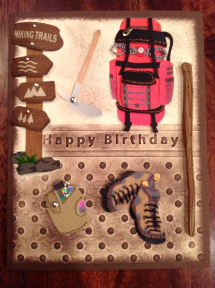 Hiking - Happy Birthday | Vandera Chocolate Moose | Pinterest