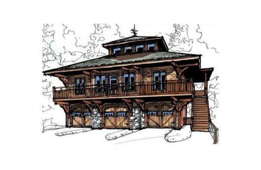 Great garageguest house plan Home Ideas Pinterest