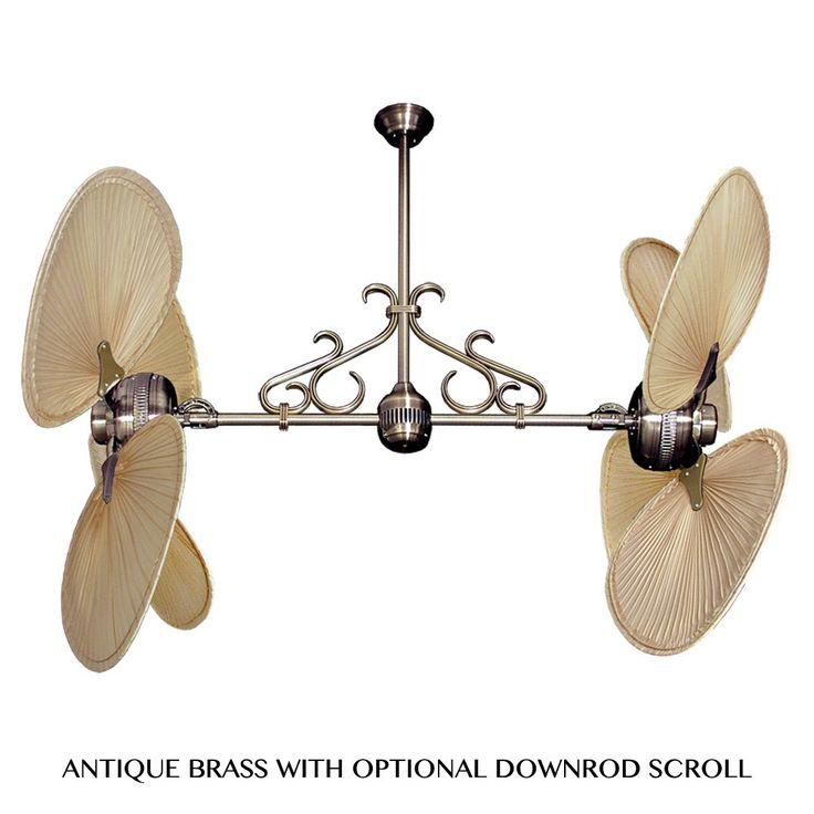 double headed ceiling fan | Home > Twin Star II Double Ceiling Fan ...