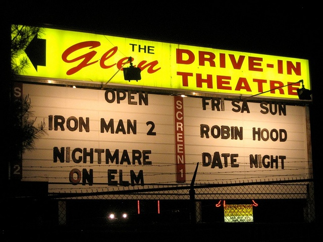 The Glen Drive In Theatre Glens Falls NY by Mod Betty / RetroRoadmap.com, via Flickr