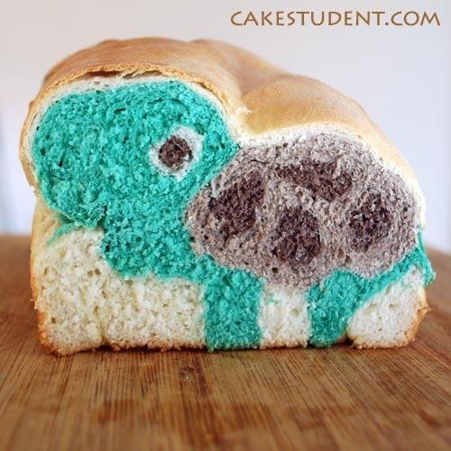 Turtle bread!   Tasty Vittles   Pinterest
