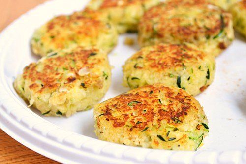 Zucchini Cakes (Adapted from The Life's Ambrosia's recipe ...
