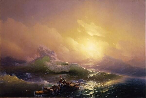By The Ninth Wave Ivan Aivazovsky
