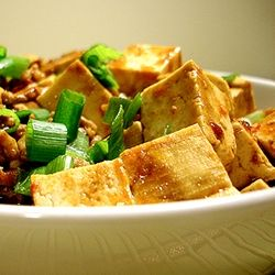 Spicy Mapo with Chicken (or Turkey) | FOOD ~ Chinese | Pinterest