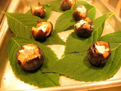 ... stuffed with mushrooms and goat cheese stuffed figs with goat cheese