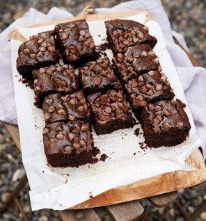 Fudgy Chocolate Brownies - everyone needs a healthy splurge!