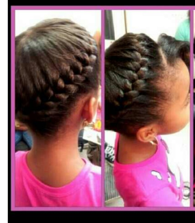 quick braided hairstyles : Quick braid Styles for Avi Pinterest