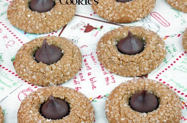 Hershey Kiss Gingerbread Cookies | Yummy | Pinterest