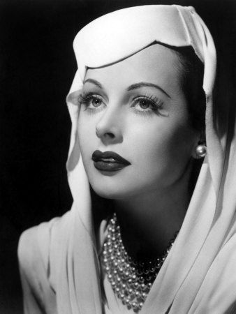 Hedy Lamarr, actress and engineer
