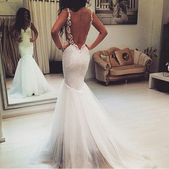 images Stunning Backless Wedding Gowns That You Will Absolutely Adore