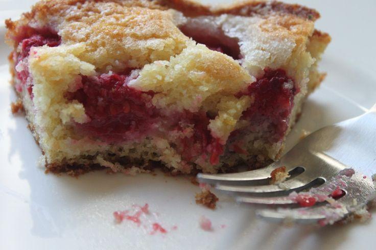 Raspberry – Buttermilk Cake