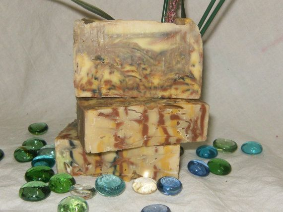 Coconut Spice Rum Soap ~ All Natural Homemade Soap