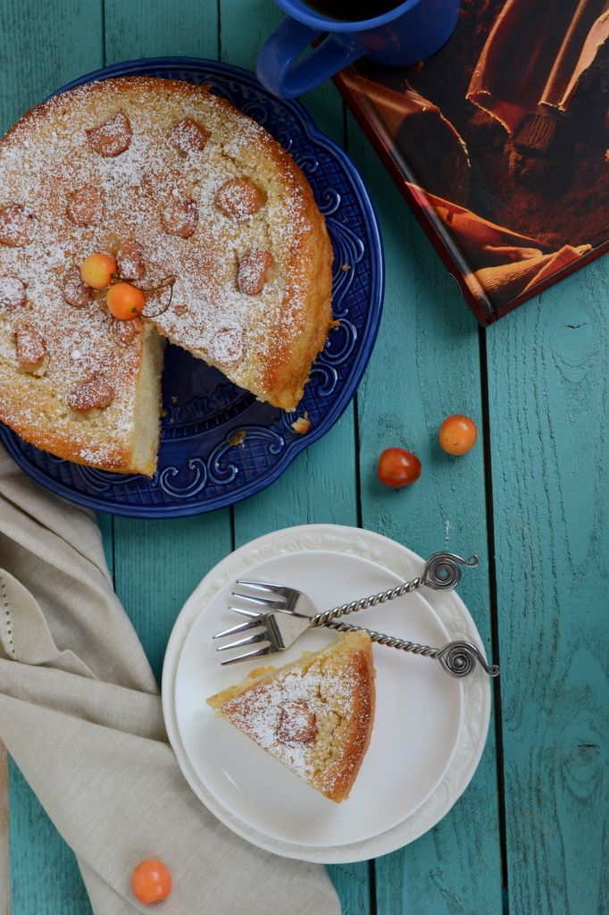 Fresh Cherry and Rum Cake | All Sugared Up | Pinterest