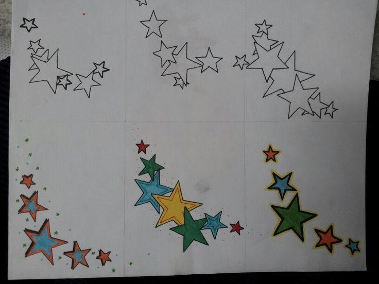 star clusters tattoo-#24