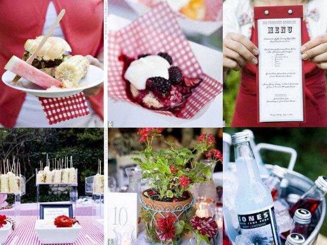 backyard bbq wedding bbq weddings summer party ideas pinterest