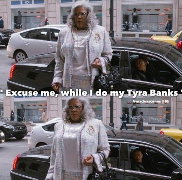 Tyra Banks Victoria S Secret Walk: Pin By Kelley Josephson On Madea Quotes
